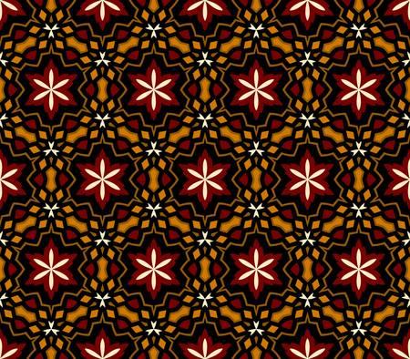 대칭: 추상 빈티지 패턴 벽지 원활한 배경