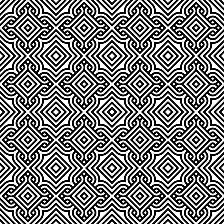 abstract vintage pattern wallpaper seamless background   Stock Illustratie
