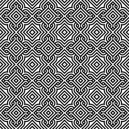 fondo geometrico: modelo abstracto cosecha papel tapiz de fondo sin fisuras