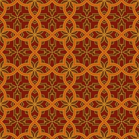 abstract vintage pattern wallpaper seamless background  Vector illustration Stock Vector - 14776581