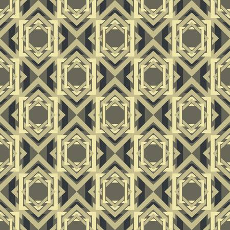 symmetric: abstract vintage pattern wallpaper seamless background  Vector illustration