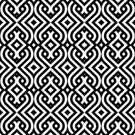 seamless: abstract vintage pattern wallpaper seamless background  Vector illustration