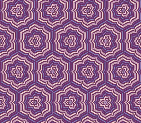 fabric texture: abstract vintage geometric wallpaper pattern seamless background Illustration