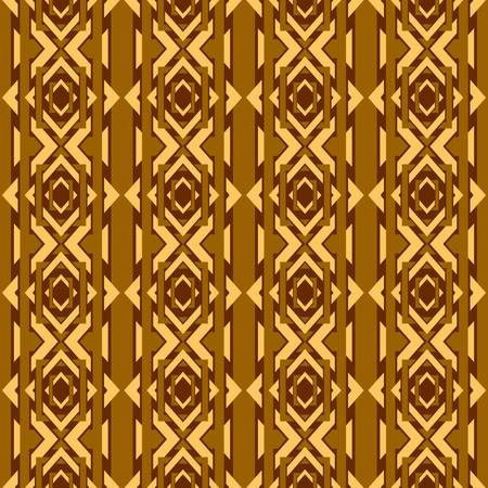 textiles: abstract vintage geometric wallpaper pattern seamless background  Vector illustration