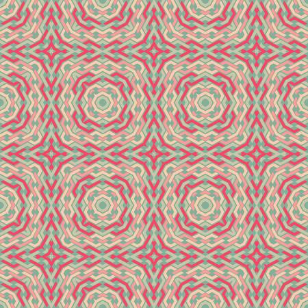 antique wallpaper: abstract vintage geometric wallpaper pattern seamless background  Vector illustration