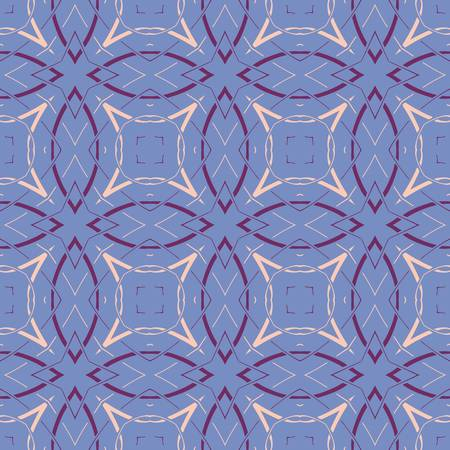 abstract vintage geometric wallpaper pattern seamless background  Vector illustration Stock Vector - 14882012