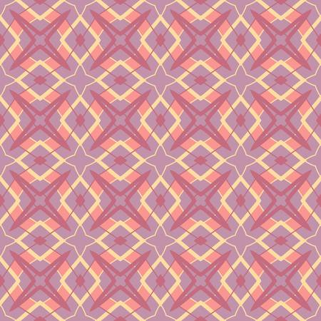 abstract vintage geometric wallpaper pattern seamless background  Vector illustration Stock Vector - 14952451