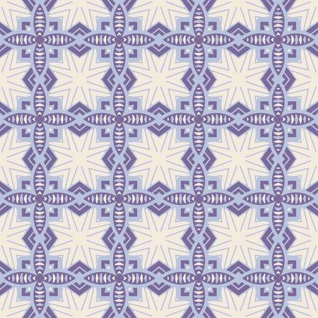 decoration: abstract vintage geometric wallpaper pattern seamless background  Vector illustration