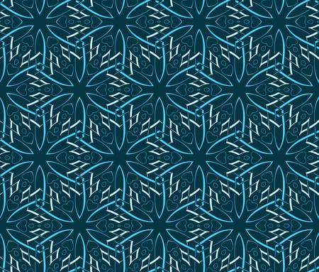 abstract vintage geometric wallpaper pattern seamless background  Vector illustration Stock Vector - 14982421