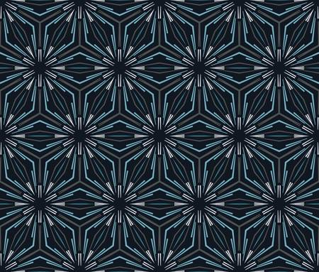 repetition: abstract vintage geometric wallpaper pattern seamless background  Vector illustration