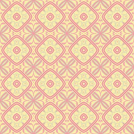 repeat texture: abstract vintage geometric wallpaper pattern seamless background  Vector illustration