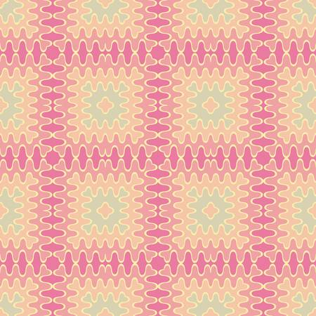 mosaic: abstract vintage geometric wallpaper pattern seamless background  Vector illustration
