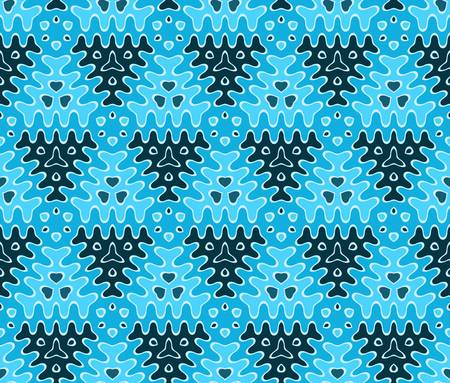 abstract vintage geometric wallpaper pattern seamless background  Vector illustration Stock Vector - 15488317