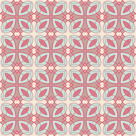 tile pattern: abstract vintage geometric wallpaper pattern seamless background  Vector illustration