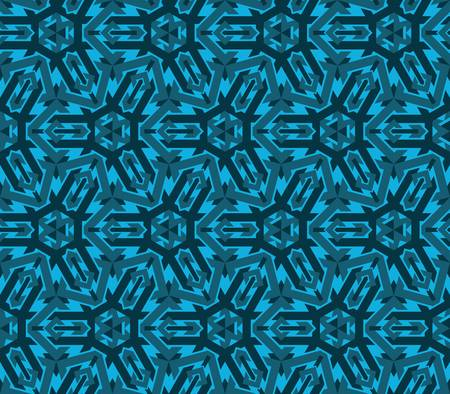 abstract vintage geometric wallpaper pattern seamless background Vector