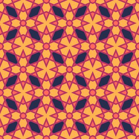 design: ethnic modern geometric seamless pattern ornament background print design
