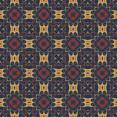 textiles: ethnic modern geometric seamless pattern ornament background print design