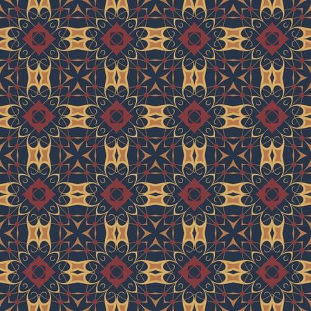textiles: ethnic modern geometric seamless pattern ornament background print design