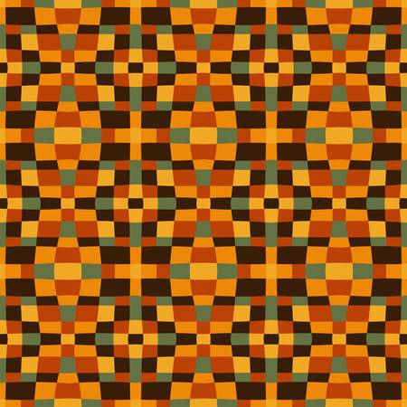 african fabric: ethnic modern geometric seamless pattern ornament background print design