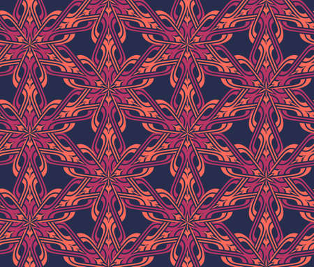 ethnic modern geometric seamless pattern ornament background print design photo