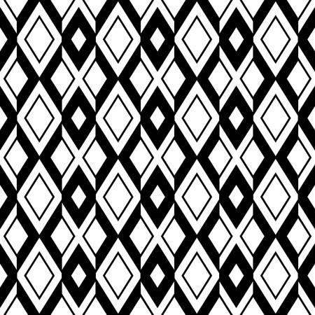modern geometric seamless pattern ornament background print design Stock Illustratie