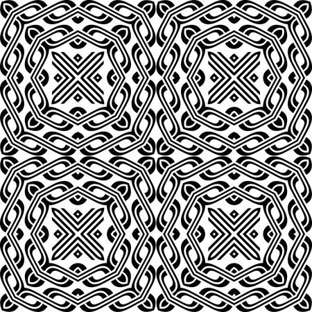 vitrage: decorative modern geometric seamless pattern ornament illustration background print design