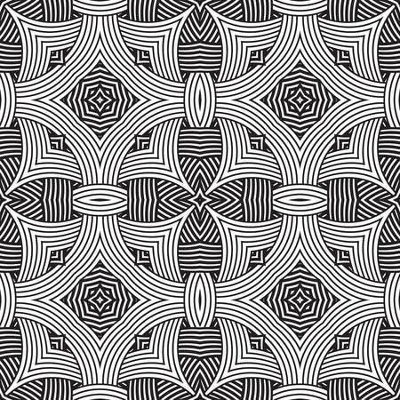 zag: decorative modern geometric seamless pattern ornament illustration background print design