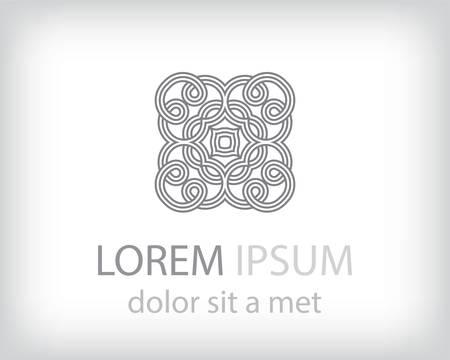 Corporate, Media, Technology styles vector logo design template  Vector
