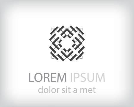 Corporate, Media, Technology styles vector logo design template. Vector