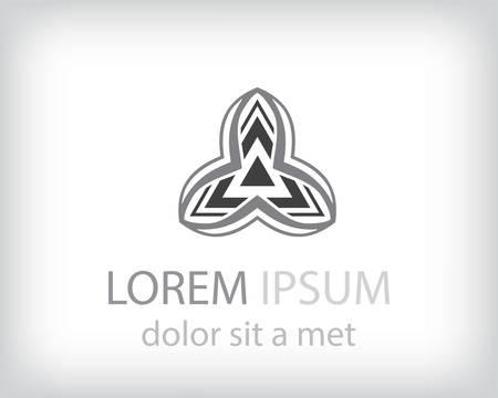 Corporate, Media, Technology styles vector logo design template.