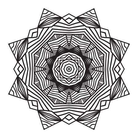 celtic knot doily round lace floral pattern card, circle, mandala, amulet
