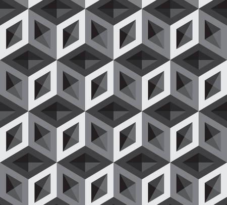 arte optico: 3d cubos ilustración patrón. Antecedentes y Contexto.