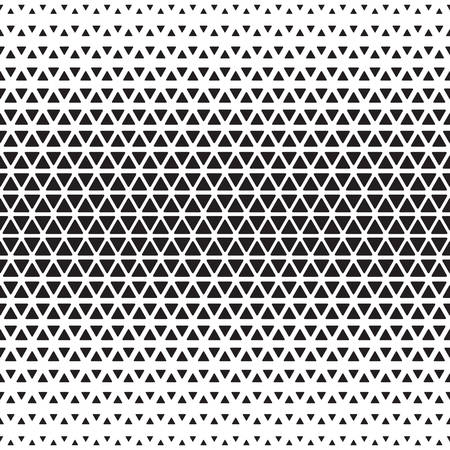 Halftone monochrome geometric pattern. Background print design