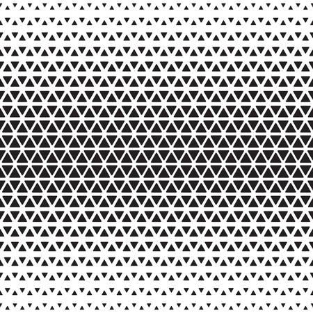 Halftone monochrome geometric pattern. Background print design