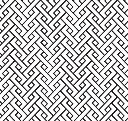 pigtail: geometric pigtail seamless pattern ornament background print design