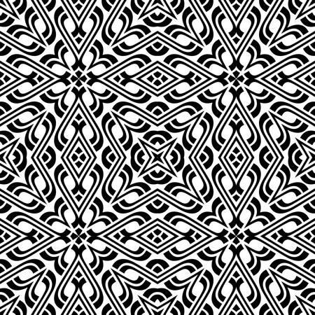 celtic background: geometric seamless ornament.