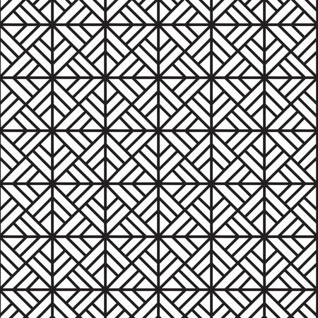 interior decoration: Geometric seamless pattern