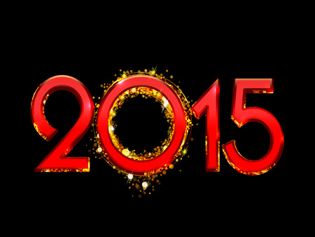 2015 Happy New Year background photo