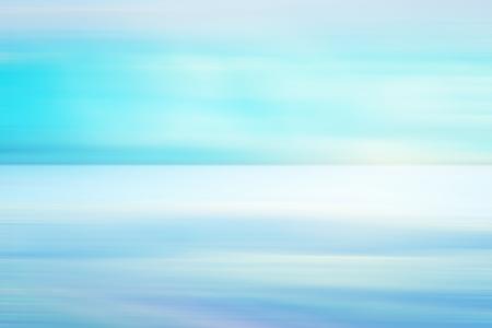 Blue light background - Blue light background with calm ocean and sky