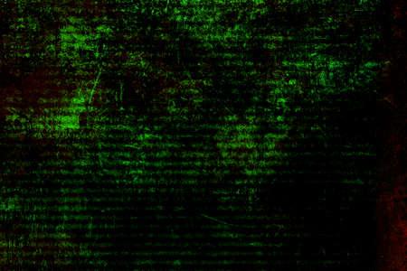 green grunge background: Abstract artistic black green grunge background