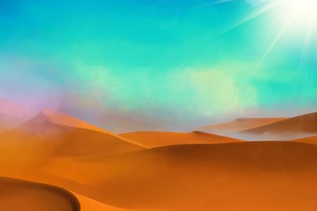 dunes: Desert dunes background