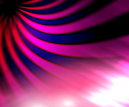 irradiation: Pink indigo ray background