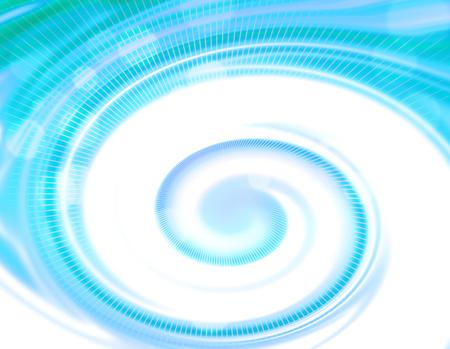 blue spiral: Blue spiral