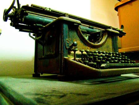 Old typewriter Banco de Imagens