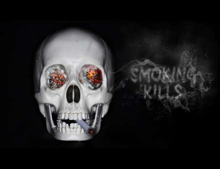 Smoking kills 3 Stock Photo