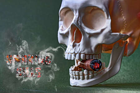cigare: Smoking kills 2 Stock Photo