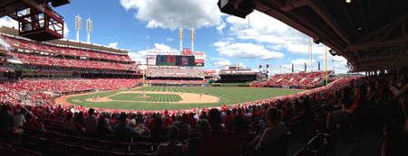 ballpark: Great American Ballpark en Cincinnati OH.