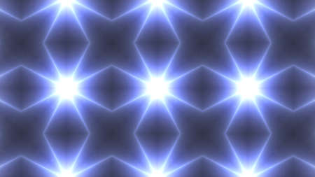 Designer abstract background with glowing individual shapes Stock Photo