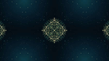Abstract kaleidoscope background. Beautiful multicolor kaleidoscope texture. Unique and inimitable design. Geometrical symmetrical ornament Banco de Imagens