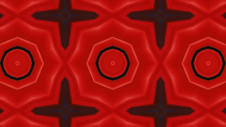Designer kaleidoscope background with beautiful elements. New trends. Standard-Bild